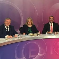 Watch it here at: Question Time with Catherine Barnard
